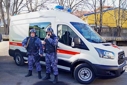 Пьяный россиянин избил бригаду скорой помощи
