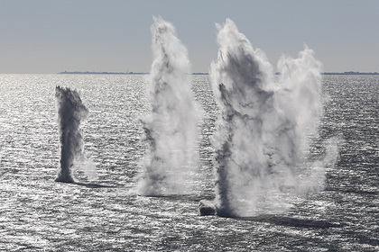 Украина начнет глубинное минирование Азовского моря