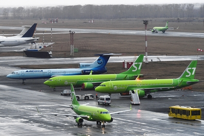 Названа причина возгорания самолета в российском аэропорту