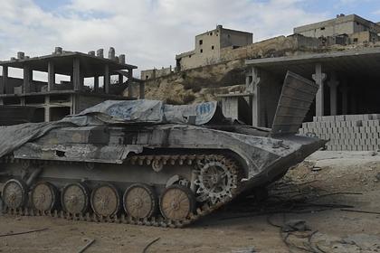 Десятки террористов с танками атаковали военных в Сирии