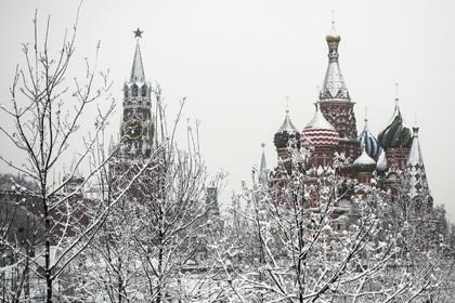 Москвичам пообещали небольшой снег