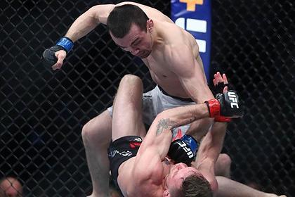 Российский боец Аскаров одержал первую победу в UFC