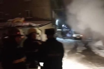 Опубликовано видео с места прорыва трубы с кипятком в пермском отеле