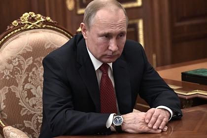 Путин отказался от участия в крещенских купаниях