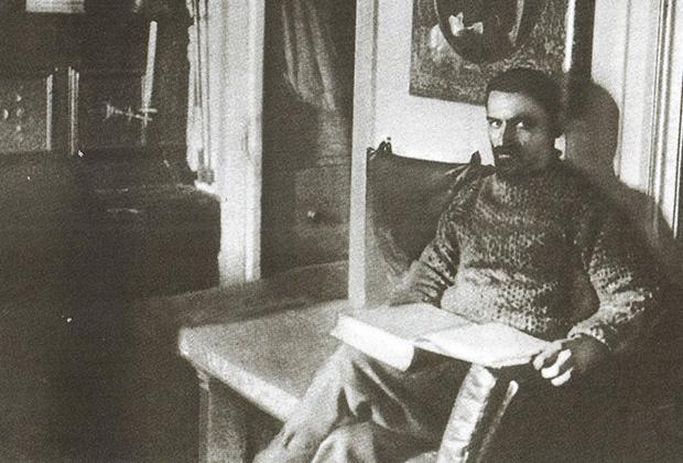 Александр Колчак в кают-компании «Зари»