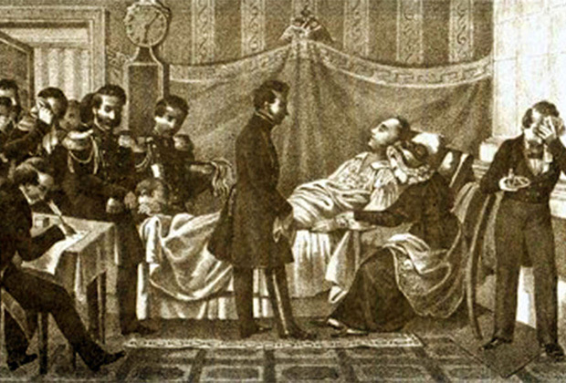 Борис Чориков «Кончина императора Александра I»