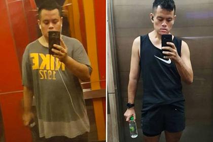 Мужчина испугался смерти и сбросил 50 килограммов за год