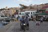 Вечер на набережной в Эмпорио — единственном поселке на острове Халки.