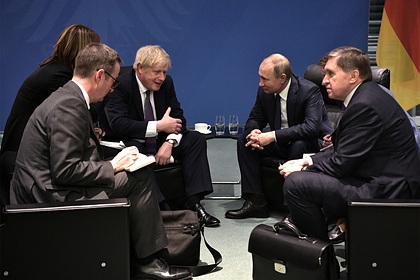 Стало известно о попытке Джонсона помириться с Путиным