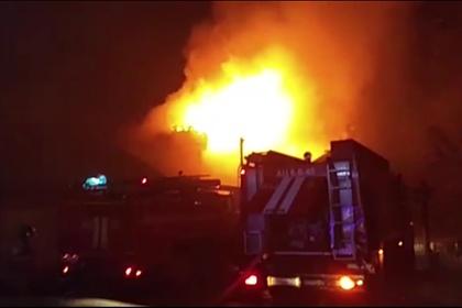 В российском городе сгорел крематорий