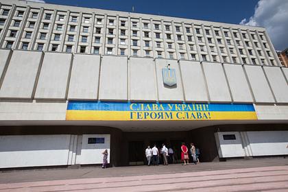 Украинский военный покончил с собой в здании ЦИК