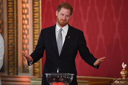 Принц Гарри покинул Великобританию после отречения от титула