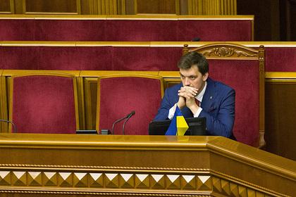 На Украине объяснили несостоявшуюся отставку премьера