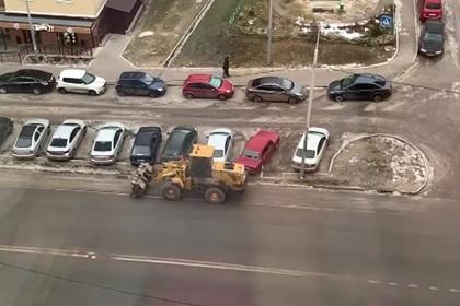 Россияне пожаловались на уборку воображаемого снега