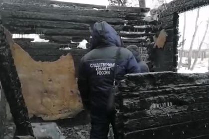 Последствия крупного пожара в томском поселке попали на видео