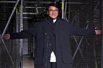 Джеки Чан вышел на подиум