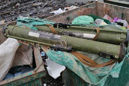 На Украине в мусорном баке нашли противотанковые гранаты