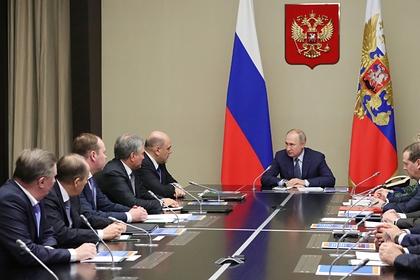 Путин подписал указ о правительстве
