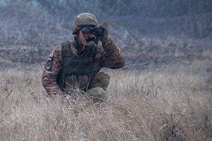 Украина заявила о применении запрещенного оружия в Донбассе