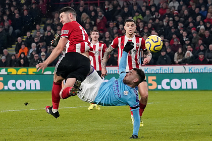 «Манчестер Сити» вырвал победу у новичка АПЛ