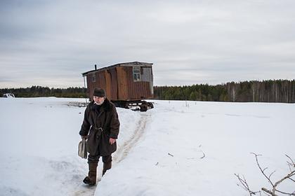Российского пенсионера переселили жить в автовагон