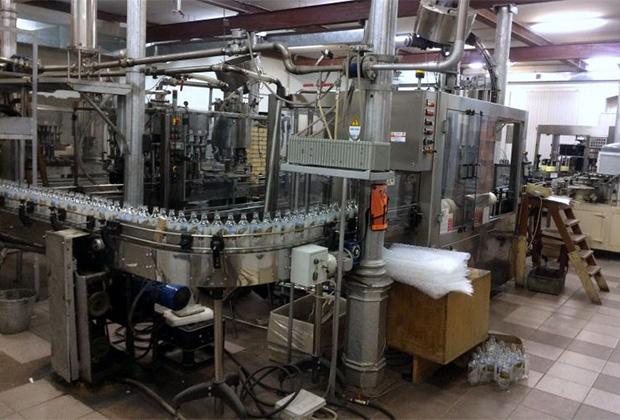 Производственная линия на заводе в Верхнеуральске