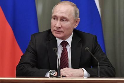 Путин запретил тянуть время при реализации его послания