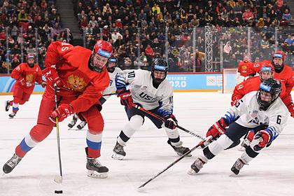 Сборная России по хоккею разгромила США в финале юношеской Олимпиады