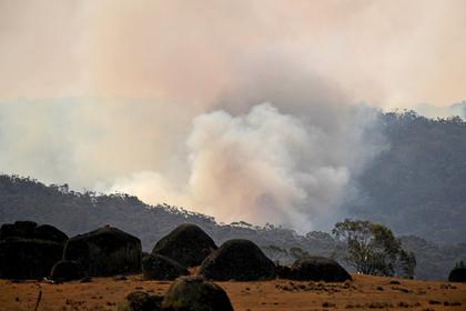 Самолет разбился при тушении пожаров в Австралии