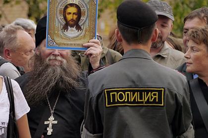 Российский священник рассказал о «сатанинской наледи» в сердцах полицейских