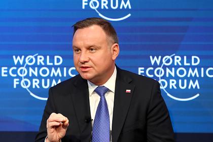 Президент Польши назвал правильным решение не приехать на форум памяти холокоста