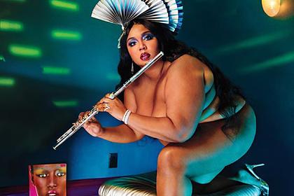 Бодипозитивная певица попозировала обнаженной для обложки журнала