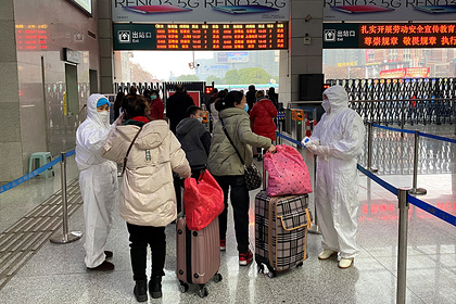 Все рейсы из зараженного Уханя в Москву временно отменили
