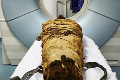 Древняя египетская мумия испустила стон