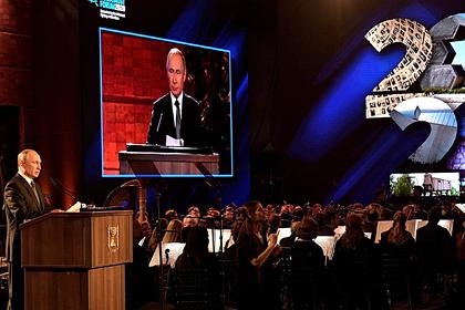 Израильскую журналистку возмутило внимание к Путину вместо холокоста