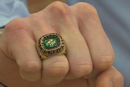 Потерянное кольцо вернулось к хозяину спустя 14 лет