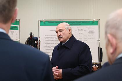 Лукашенко рассказал о «поставленной раком» Белоруссии