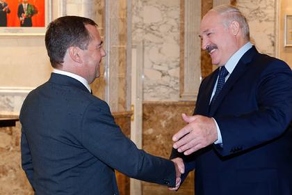 В окружении Медведева ответили на претензии Лукашенко