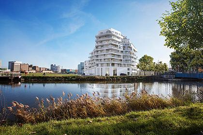 Во французском городе построят «почти-остров»
