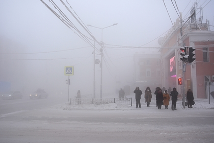 В российском городе отменили занятия в школах из-за 40-градусых морозов