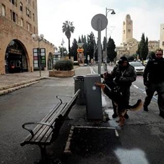 Полиция Израиля патрулирует улицы в Иерусалиме. 22 января 2020