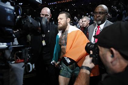 Макгрегор обратился к вдохновившему его ветерану UFC