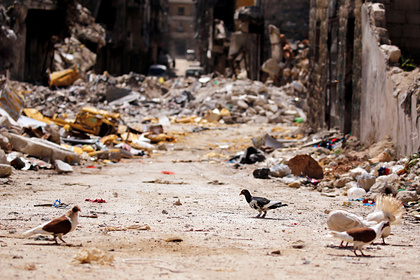 Сирийская армия ударила по террористам