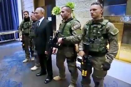 Опубликовано фото Путина с израильским спецназом