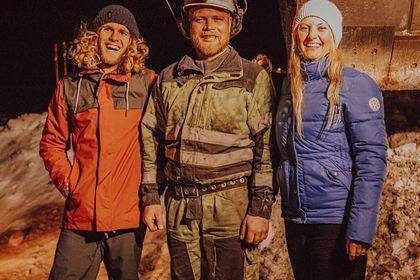 Туристка спаслась из ловушки в горах благодаря Tinder