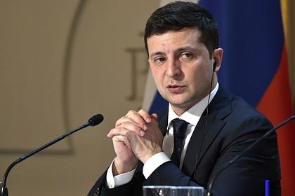На Украине рассказали о недовольстве Зеленским в Париже