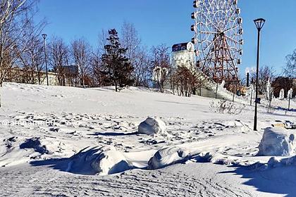 В российском городе ввели режим ЧС из-за снега