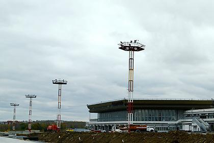 Российский самолет приготовился к посадке из-за сообщения о бомбе