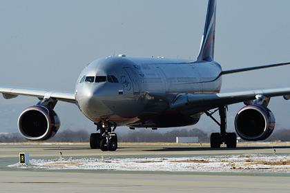 Российский самолет вернулся в аэропорт после сообщения о бомбе