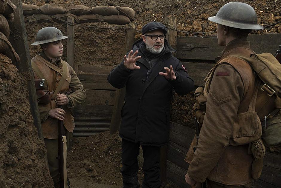 Сэм Мендес на съемках «1917»